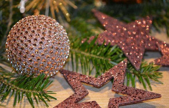 Rhinestone & Glitter Ornaments