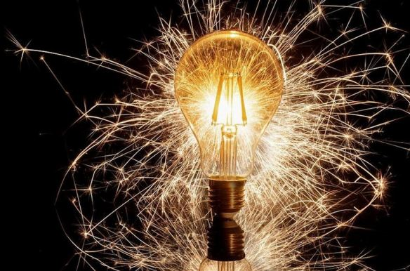 Sparkler Light Bulb