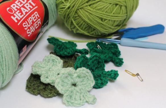 Shamrocks Crochet