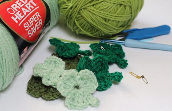 Shamrocks Crochet