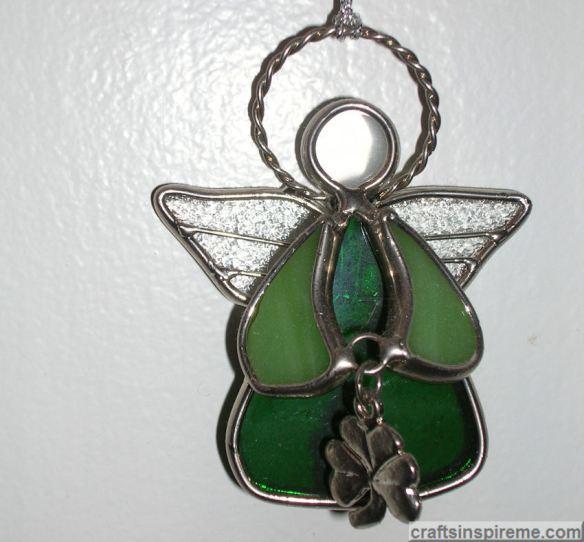 Irish Angel Stained Glass