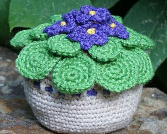 Crochet Violet