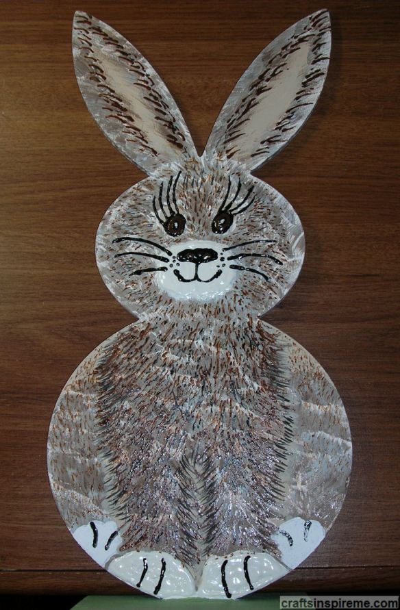 Finished 3D Bunny Front