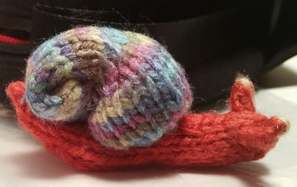 Knitting Snail