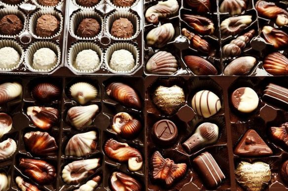 Marbled Chocolates