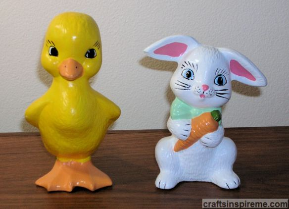 Easter Duck & Bunny