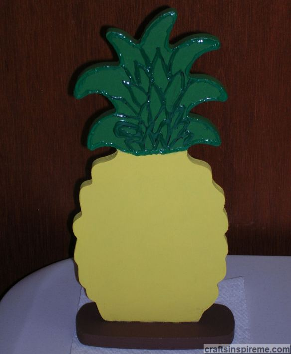 Pineapple 3D Leaves