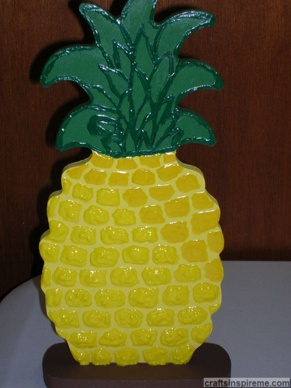 Pineapple Completed Texture