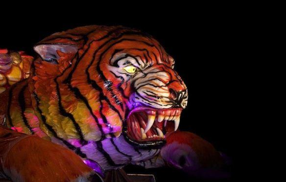 Papier Mache Tiger
