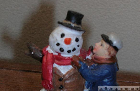 Snowman Detail