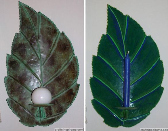 Leaves Before & After