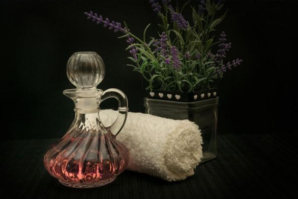 Lavender Massage Oil & Sachets