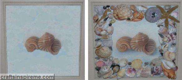 Seashell Plaque