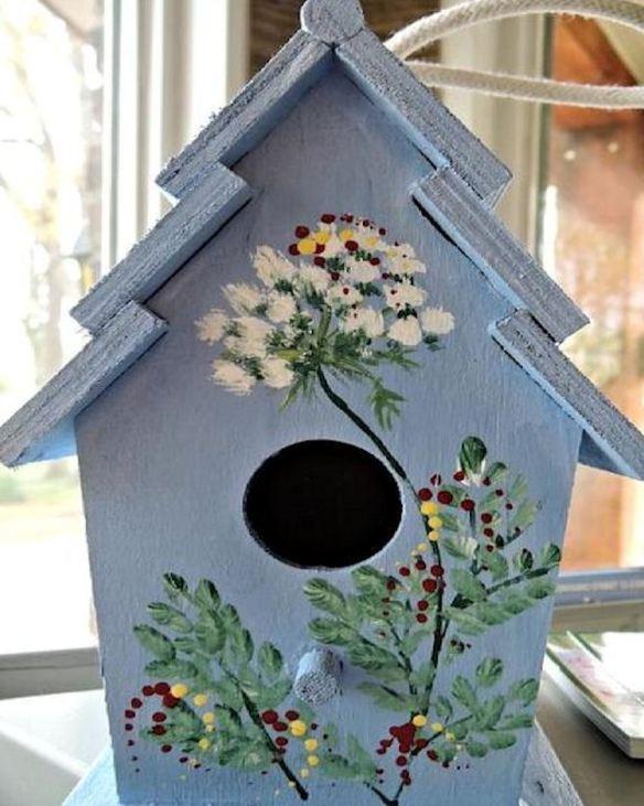 Floral Birdhouse