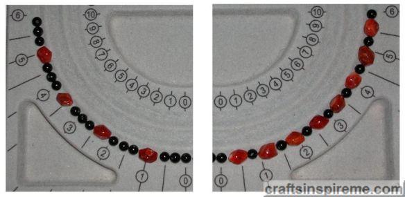Onyx Carnelian Beads