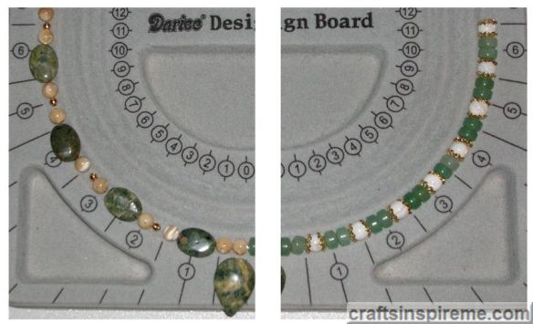 Rain Forest Jasper Aventurine & Metal Beads