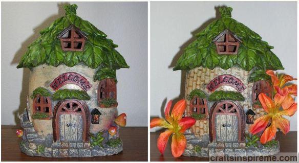 Gnome House Original vs Tropical Hut