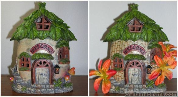 Gnome House Original vs Tropical Hut