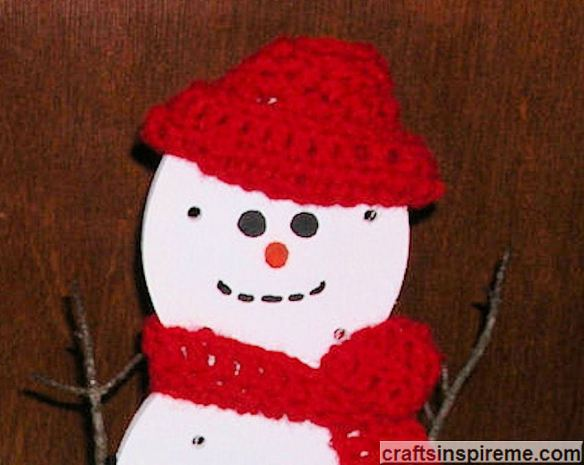 Fashionable Snowman