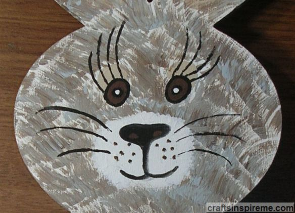 Painted Bunny Face