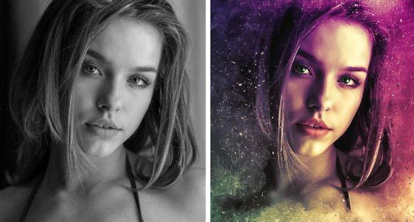 Black White Photo vs Colorized