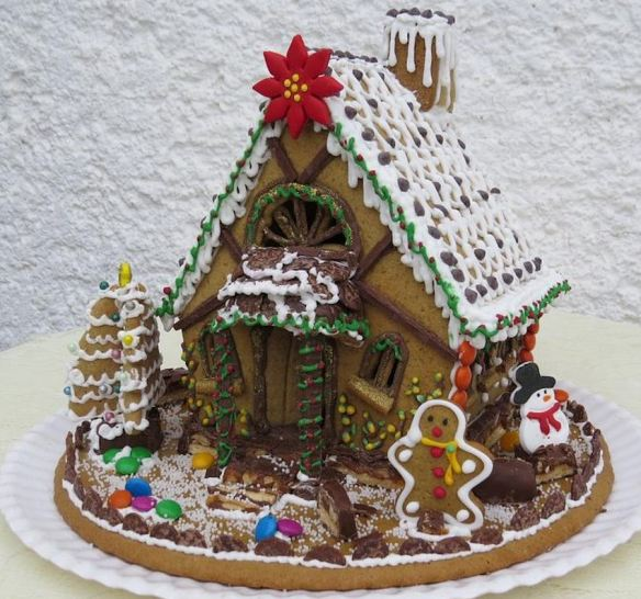 Chocolate Fairy Tale Cottage