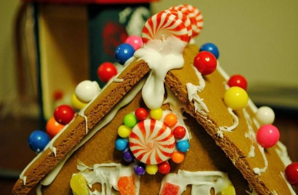 Gingerbread Roof Close Up