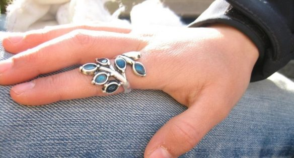 Sculptural Wrap Ring