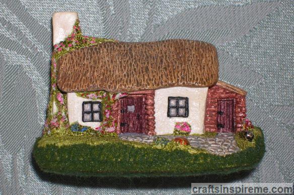 Ceramic Irish Cottage