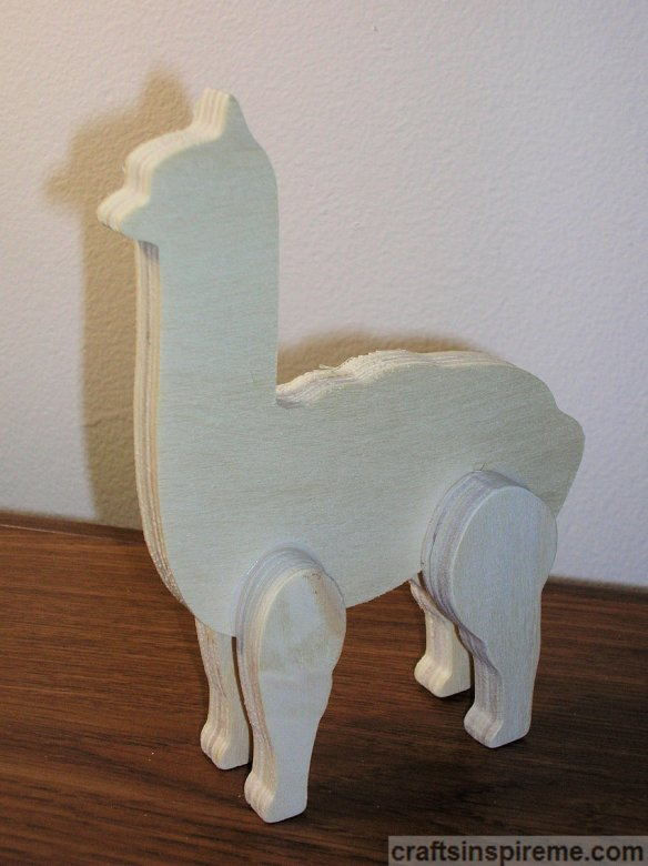 Alpaca Raw Wood
