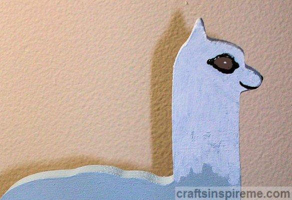 Alpaca Facial Details Painted