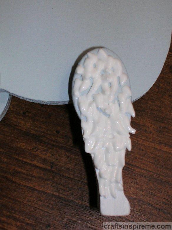 3D Paint Leg Fur Detail