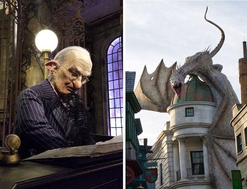 Harry Potter Goblin & Dragon