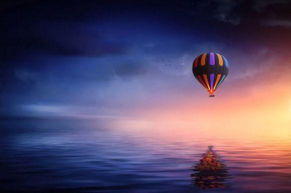 Hot Air Balloon Dreamscape