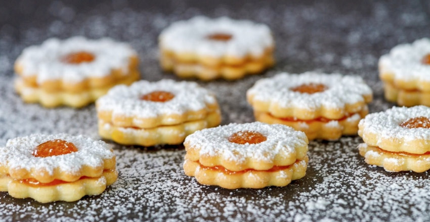 Jelly Filled Cookies